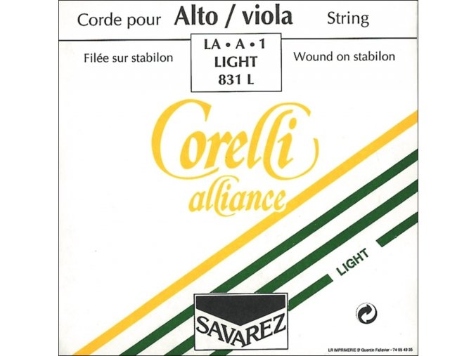 Corelli Strings For Viola Alliance Medium