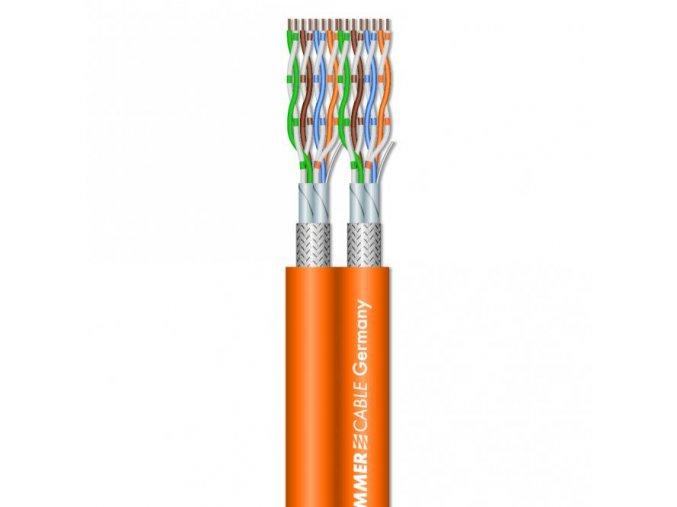 Sommer Cable SC-MERCATOR CAT.7 DuplexAWG23/1 Orange