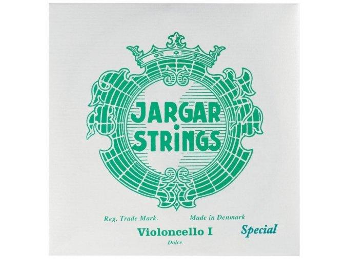 Jargar Cello Forte Set silver