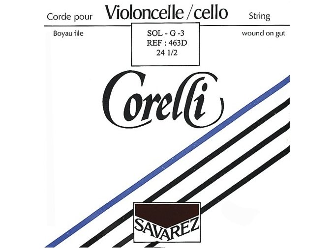 Corelli Strings For Cello Gut 25