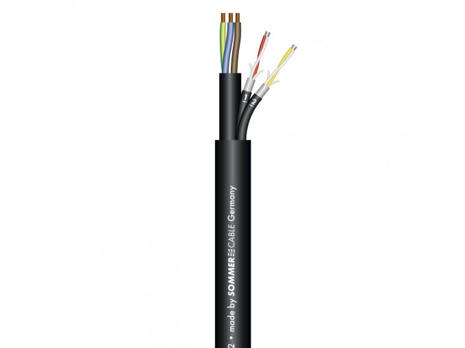 Sommer Cable MONOLITH 2 DMX-Kombil./Black 3x1,5mm? +