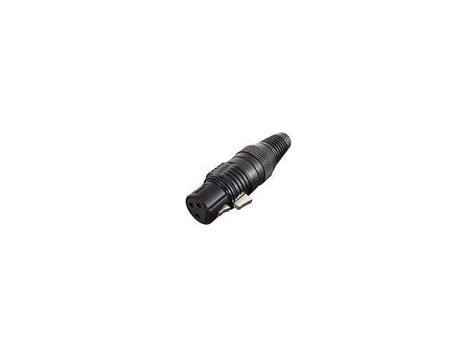 SOMMER HICON-XLR Kabel-Buchse 3-pol schwarz