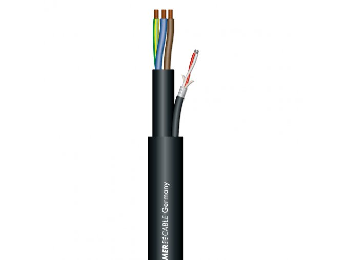 Sommer Cable MONOLITH 1 DMX-Kombil./Black 3x1,5mm? +