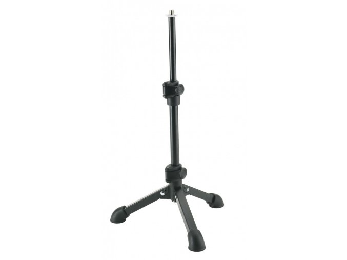 K&M 23150 Tabletop microphone stand black 3/8""