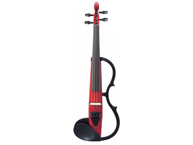 YAMAHA SV-130S Silent Violin SET Candy Apple Red
