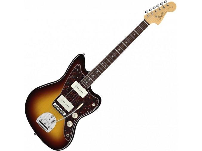 Fender American Vintage '65 Jaguar, Round-Lam Rosewood Fingerboard, 3-Color Sun