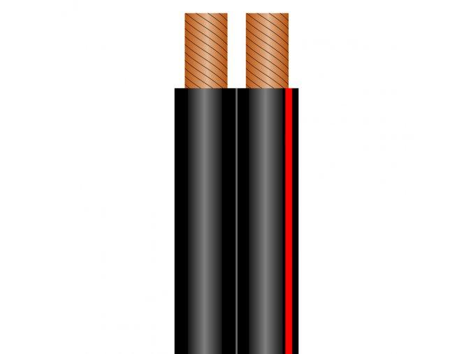 Sommer Cable SC-NYFAZ Speakerkabel 2x4,0 qmm, Black