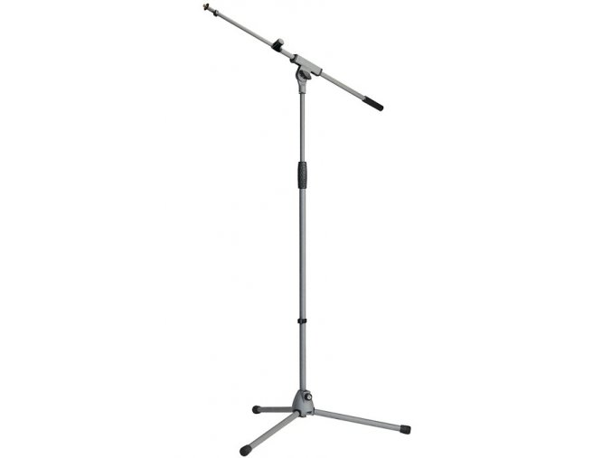 K&M 21080 Microphone stand »Soft-Touch« gray