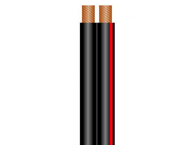 SOMMER SC-NYFAZ Speakerkabel 2x2,5 qmm, schwarz
