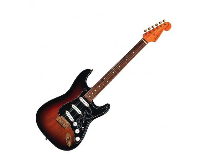 Fender Stevie Ray Vaughan Stratocaster, Pau Ferro Fingerboard, 3-Color Sunburst