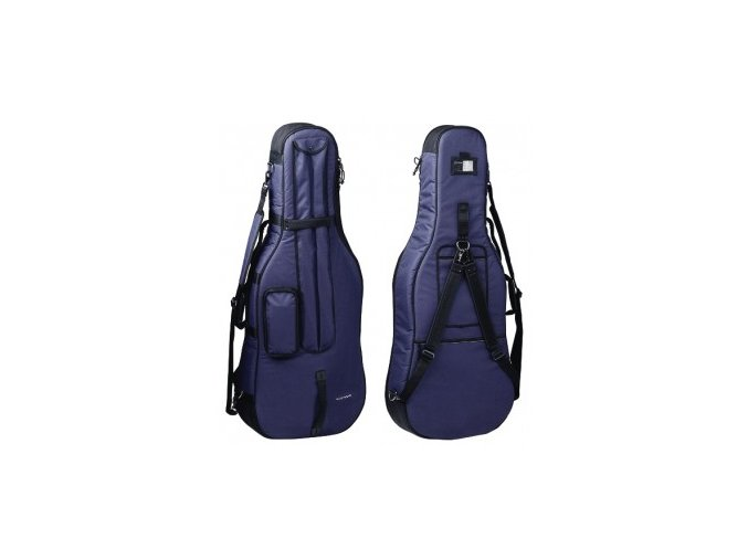 GEWA Cello Gig-Bag GEWA Bags PRESTIGE 1/2 blue