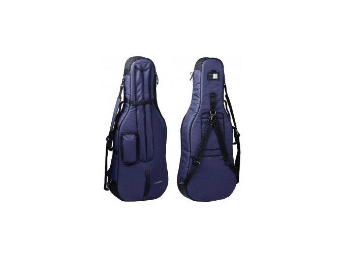GEWA Cello Gig-Bag GEWA Bags PRESTIGE 1/4 blue