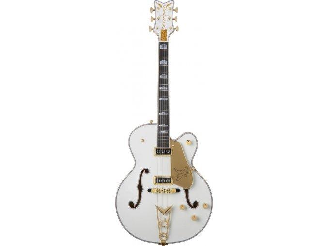 Gretsch G6136CST USA Custom Shop White Falcon, Ebony Fingerboard, White