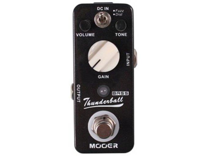Mooer MOD 3 Bass Fuzz&Dist Pedal