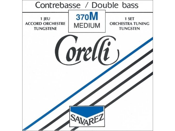 Corelli Strings For Double Bass Orchestra tuning Extra strong
