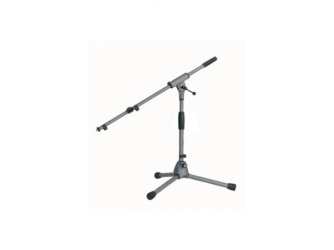 K&M 25900 Microphone stand »Soft-Touch« gray
