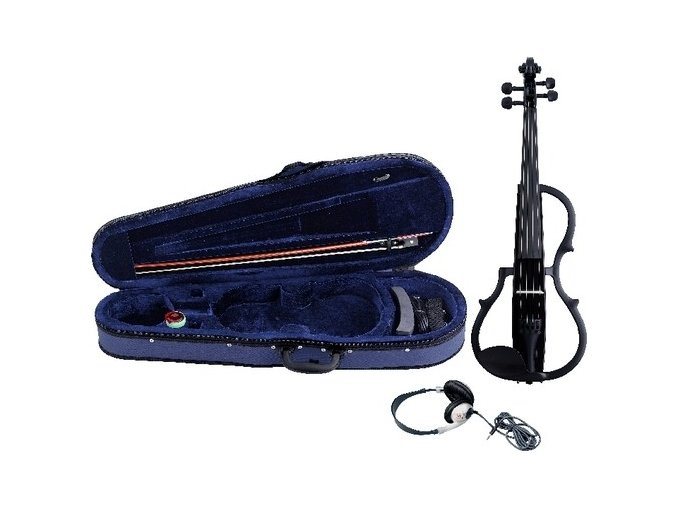 GEWA E-violin GEWA Strings Black finish