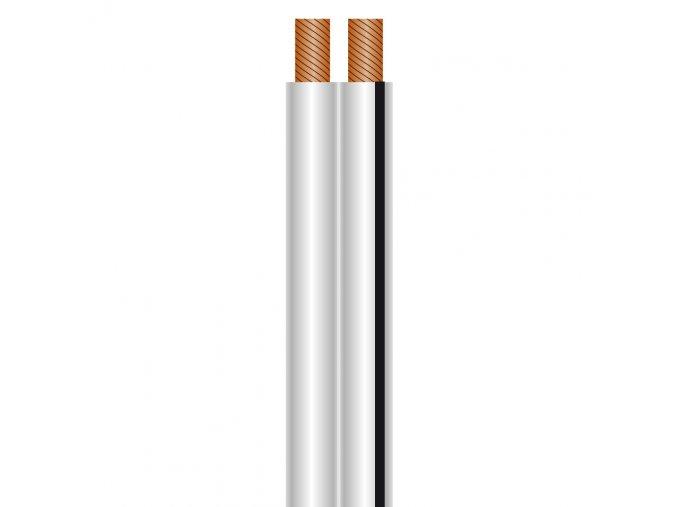 Sommer Cable SC-NYFAZ Speakerkabel 2x0,75 qmm, White