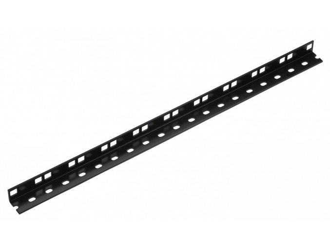 K&M 28410 Single rack rail black