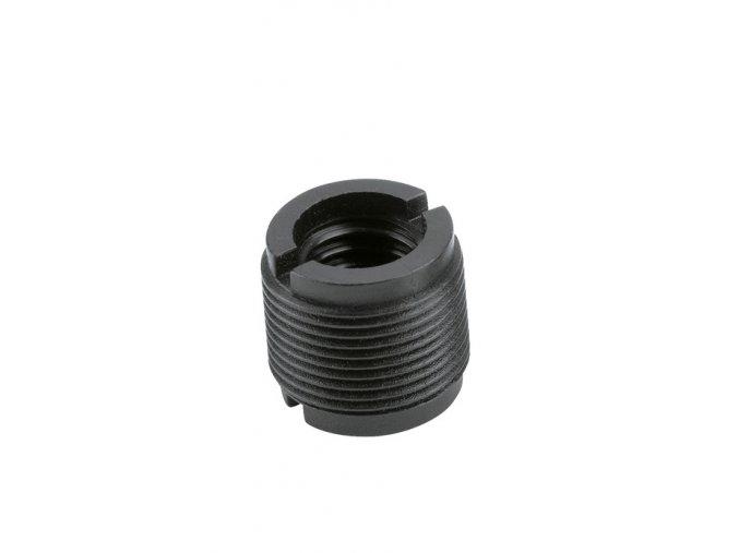 K&M 85040 Thread adapter black