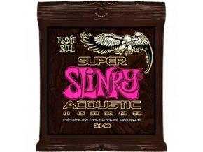 Ernie Ball Slinky Acoustic Phosphor Br. Super.011-.052