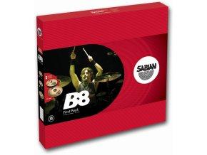 "SABIAN B8 FIRST PACK (W/ 13"" HATS, 16"" CRASH)"