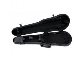 GEWA Cases Form shaped violin cases Air 1.7 Silver metallic high gloss