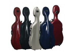 GEWA Cases Cello case Idea Futura Rolly black/burgundy