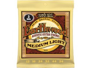 Ernie Ball Earthwood Bronze Medium Light.012-.054