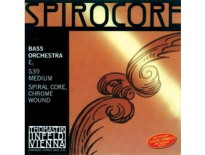 Thomastik Strings For Double Bass Spirocore spiral core Set