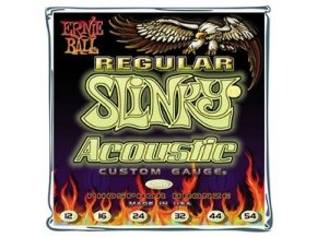 Ernie Ball Slinky Acoustic Phosphor Br. Regular.012-.054