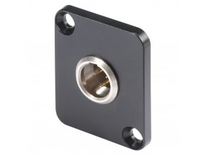 SOMMER HICON-Mini-XLR Einbaust. 3-pol D-Flansch