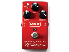 MXR M78 Custom Badass 1978 Distortion