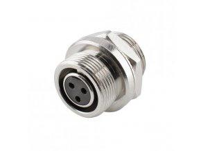 SOMMER HICON-Mini-XLR Einbau-Buchse 4-pol IP67