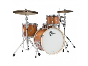 Gretsch Shellpack Brooklyn Series 8x12TT/12x14FT/16x20BD Mahogany Stain