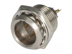 SOMMER HICON-Mini-XLR Einbau-Stecker 3-pol
