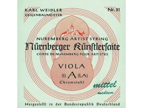 Nurnberger Strings For Viola Kuenstler strand core Set