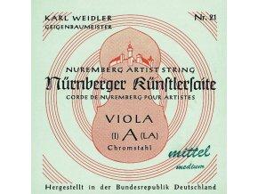 Nurnberger Strings For Viola Kuenstler strand core Set