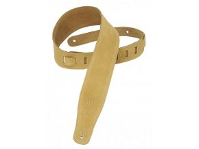 Levys MS26 Suede Leather Guitar Strap, Tan