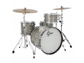 Gretsch Shellpack Brooklyn Series 8x12TT/12x14FT/16x20BD Smoke Grey