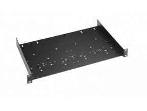 K&M 49035 Universal rack shelf black