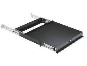 K&M 49070 Sliding shelf black
