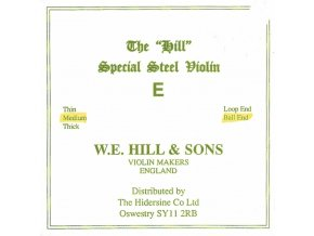 Hill Strings For Violine Thick