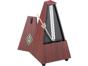 Wittner Metronome Pyramid shape Mahogany colour matt 801M