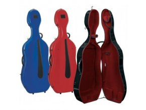 GEWA Cases Cello case Idea Evolution 4.9 Highgloss White/red