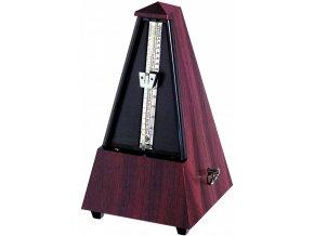 Wittner Metronome Pyramid shape Mahogany grain 855111