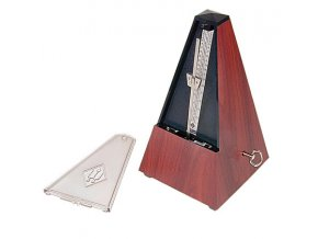 Wittner Metronome Pyramid shape Mahogany grain 802K