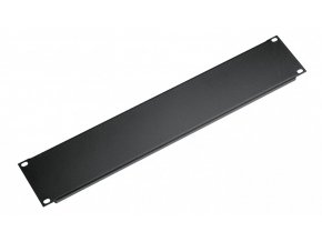 K&M 494/2 Panel black, 3 spaces, 0,32 kg