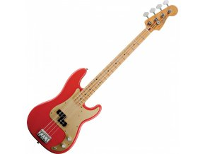 Fender '50s Precision Bass, Maple Fingerboard, Fiesta Red