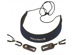 Neotech Clarinet strap C.E.O. Comfort Blue junior, Length 35,6 - 44,4 cm